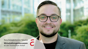 Pengalaman Stefan Kanow, Managing Director E.DIS Bau-und Energieservice GmbH, melanjutkan studi S2 di Anhalt University of Applied Sciences.Pengalaman Stefan Kanow,